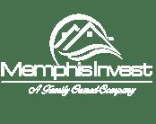 Memphis Invest Logo in White